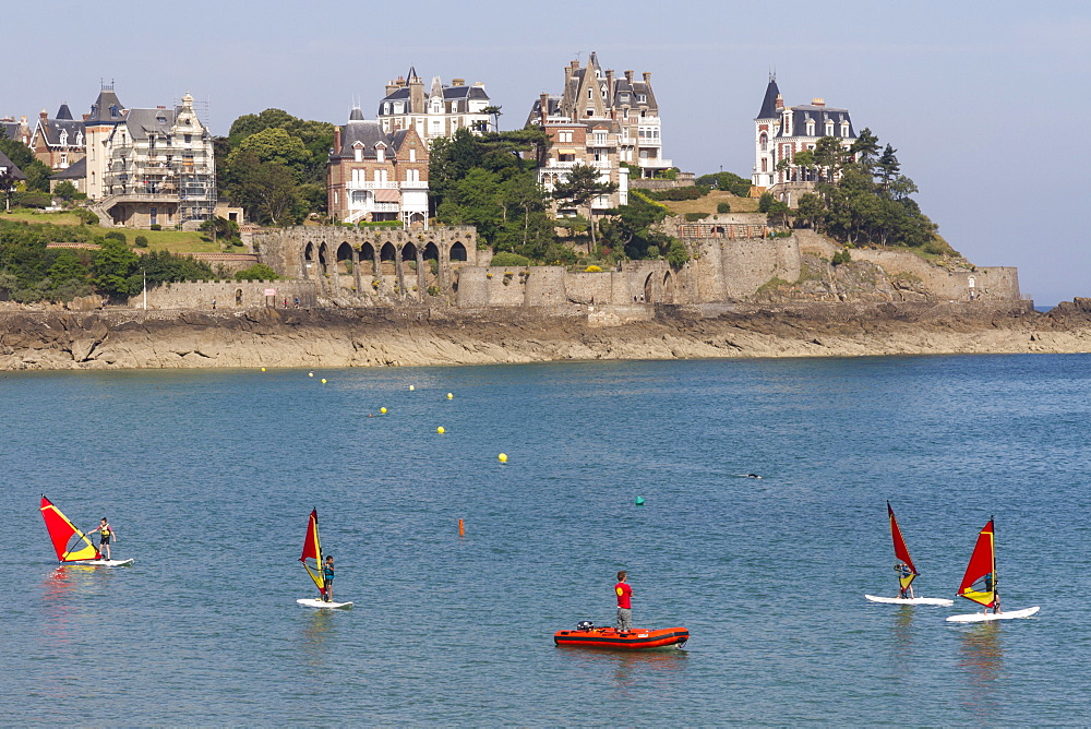 Dinard Bay, Brittany, France, Europe