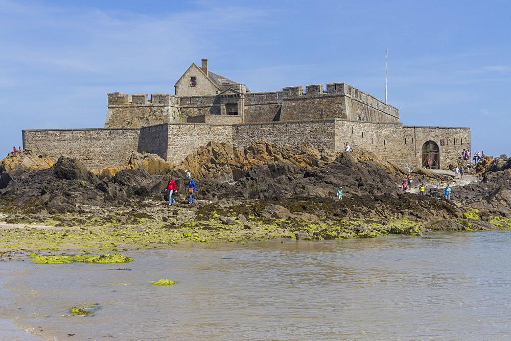 Fort National, St. Malo, Britanny, France, Europe