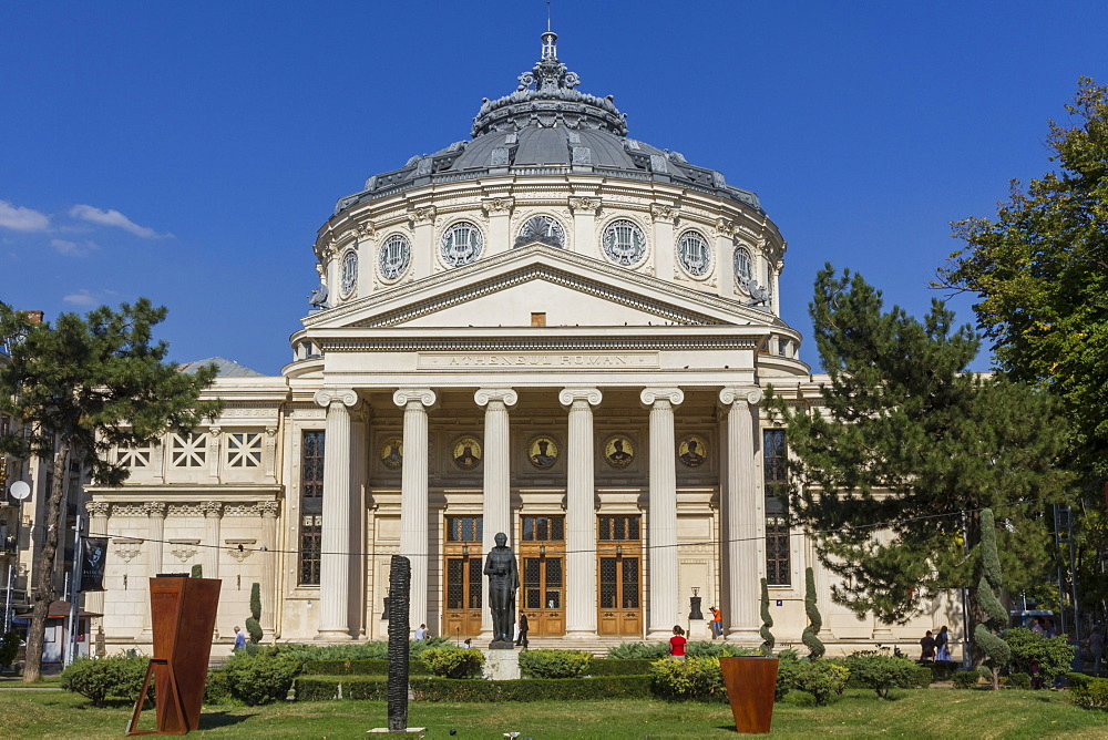 Atheneum Concert Hall, Bucharest, Romania, Europe