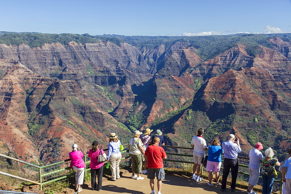 Waimea Canyon, Kauai, Hawaii, United States of America, Pacific