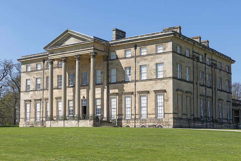 Attingham Park mansion, Atcham, Shropshire, England, United Kingdom, Europe - 306-4354