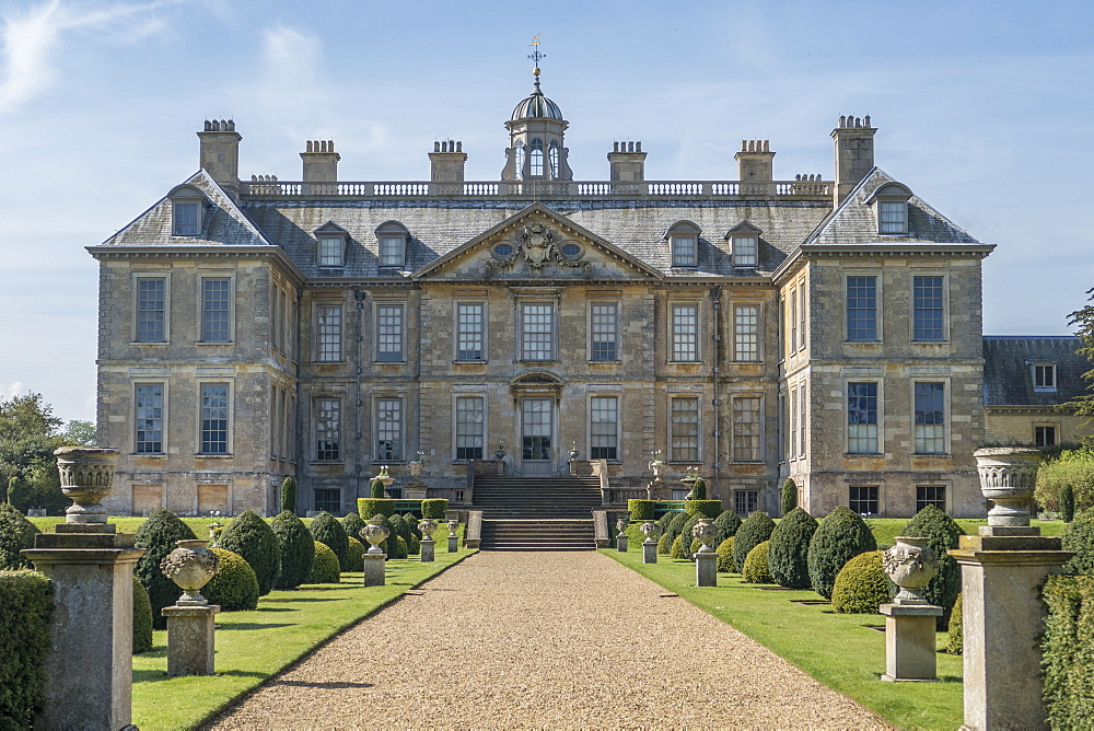 Belton House, Grantham, Lincolnshire, England, United Kingdom, Europe - 306-4356