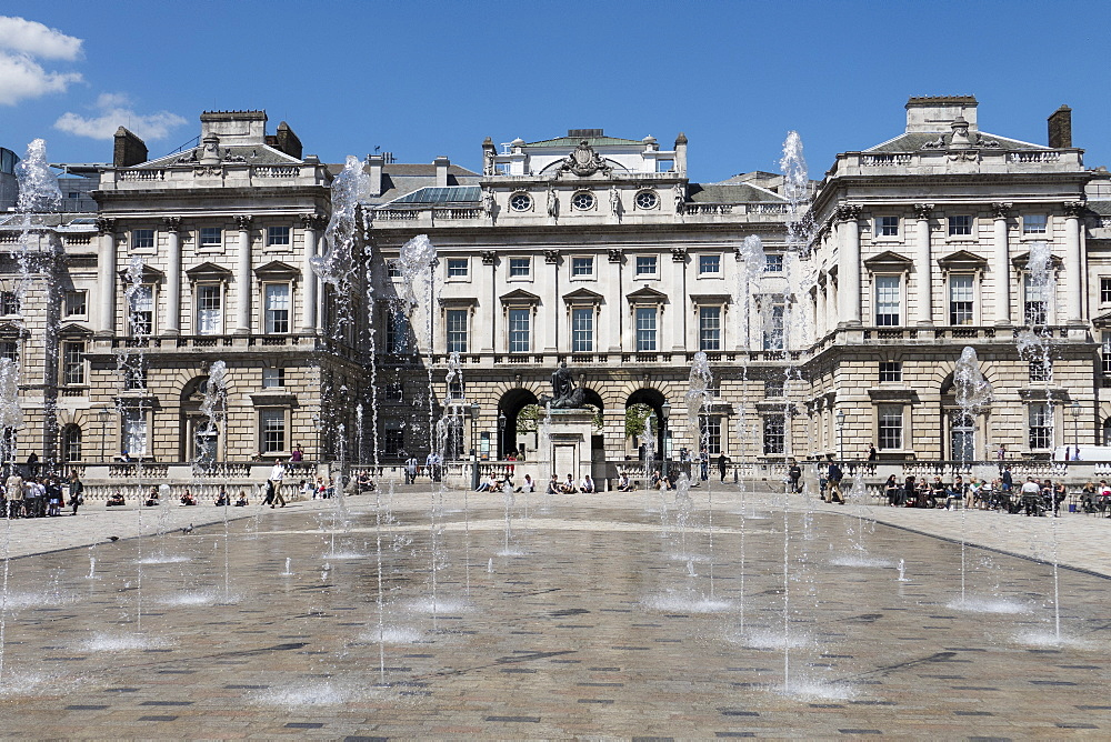 Somerset House, London, England, United Kingdom, Europe - 306-4362