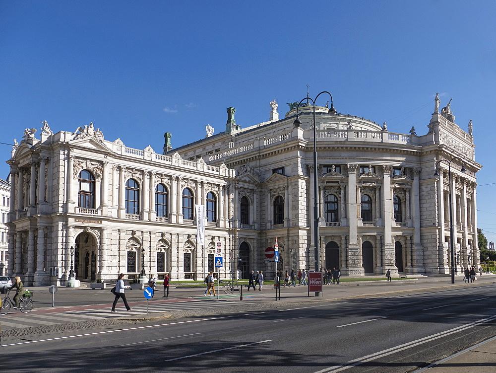 Burgteater, Vienna, Austria, Europe - 306-4378