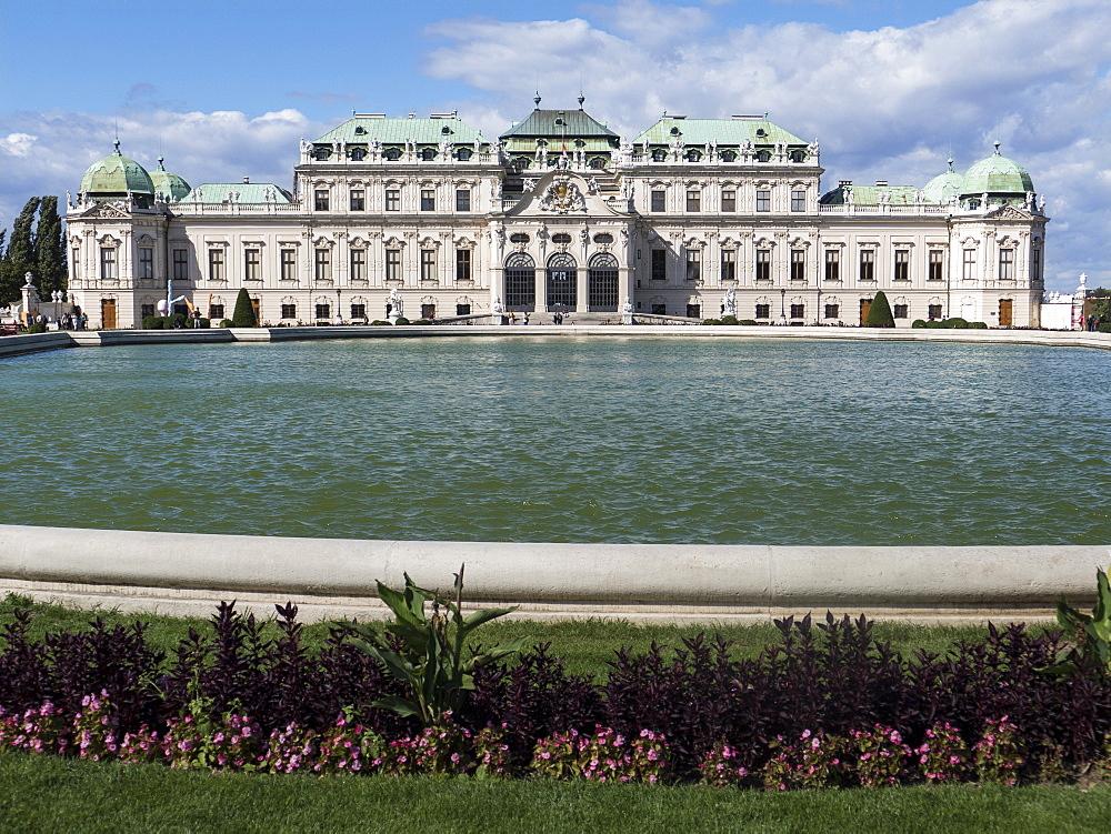 Belvedere Palace, Vienna, Austria, Europe - 306-4379