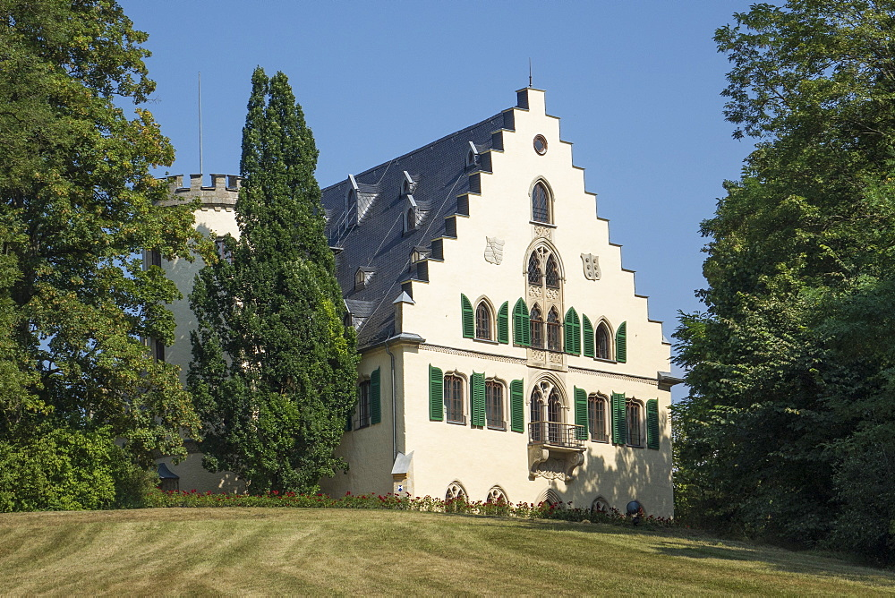 Rosenau Palace, birthplace of Prince Albert, consort of Queen Victoria, Coburg, Bavaria, Germany, Europe - 306-4411