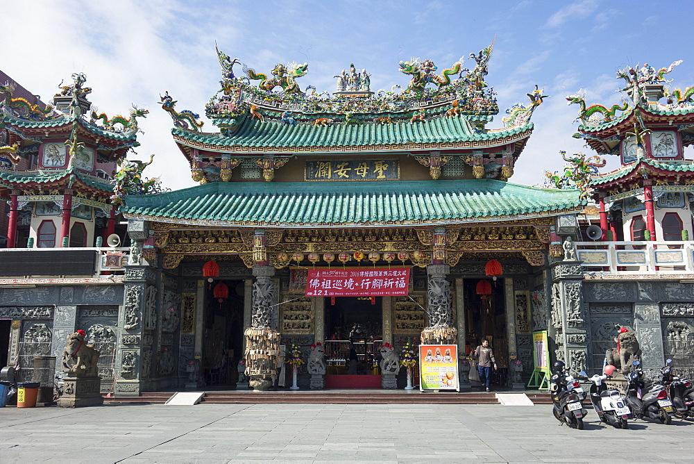 Tianhou temple, Anping, Tainan, Taiwan, Asia - 306-4413