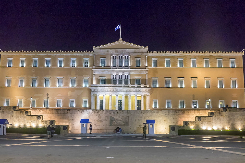 Parliament, Syntagma Square, Athens, Greece, Europe - 306-4423