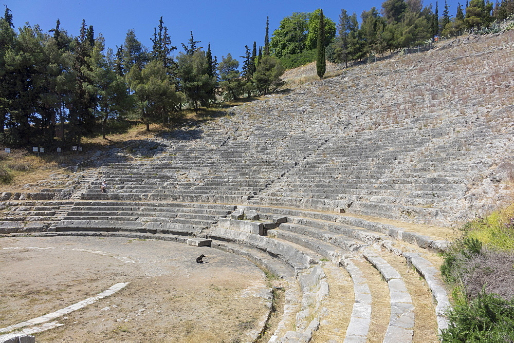 Ancient Theatre, Argos, Peloponnese, Greece, Europe - 306-4426