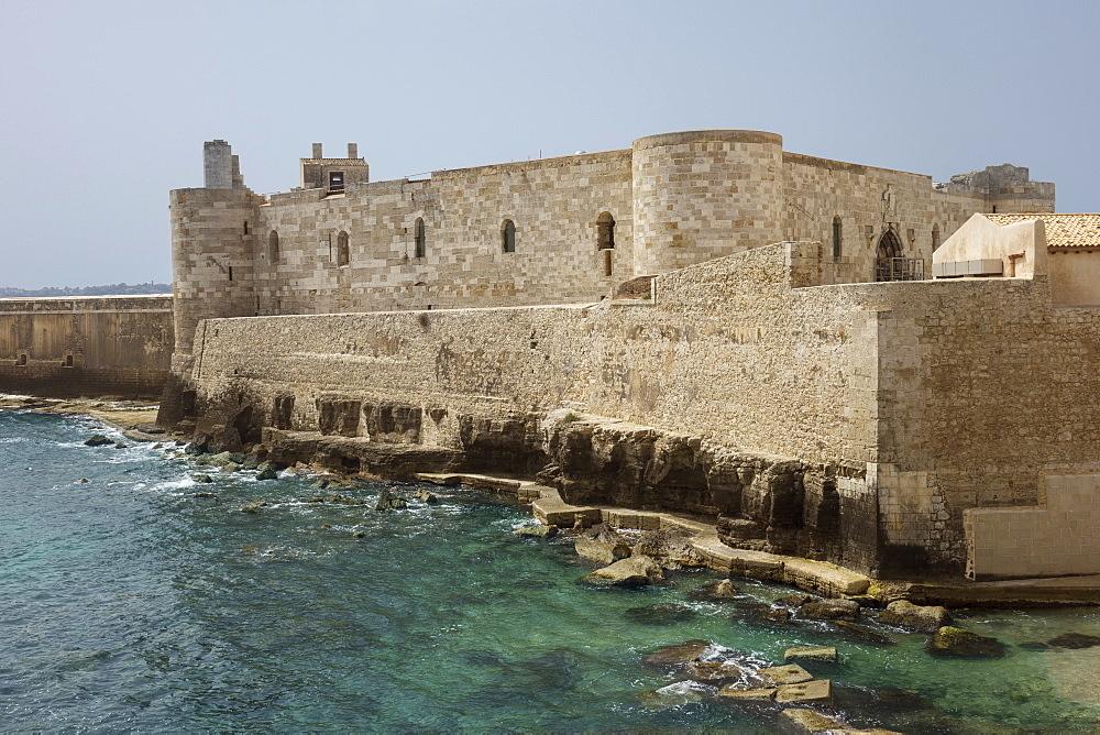 Castello Maniace, Syracuse, Sicily, Italy, Mediterranean, Europe - 306-4427