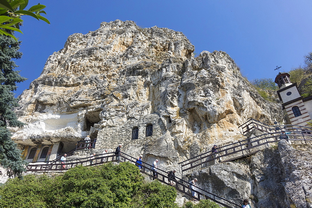 St. Dimitrii Rock Monastery, Basarbovo, Northern Bulgaria, Europe - 306-4440