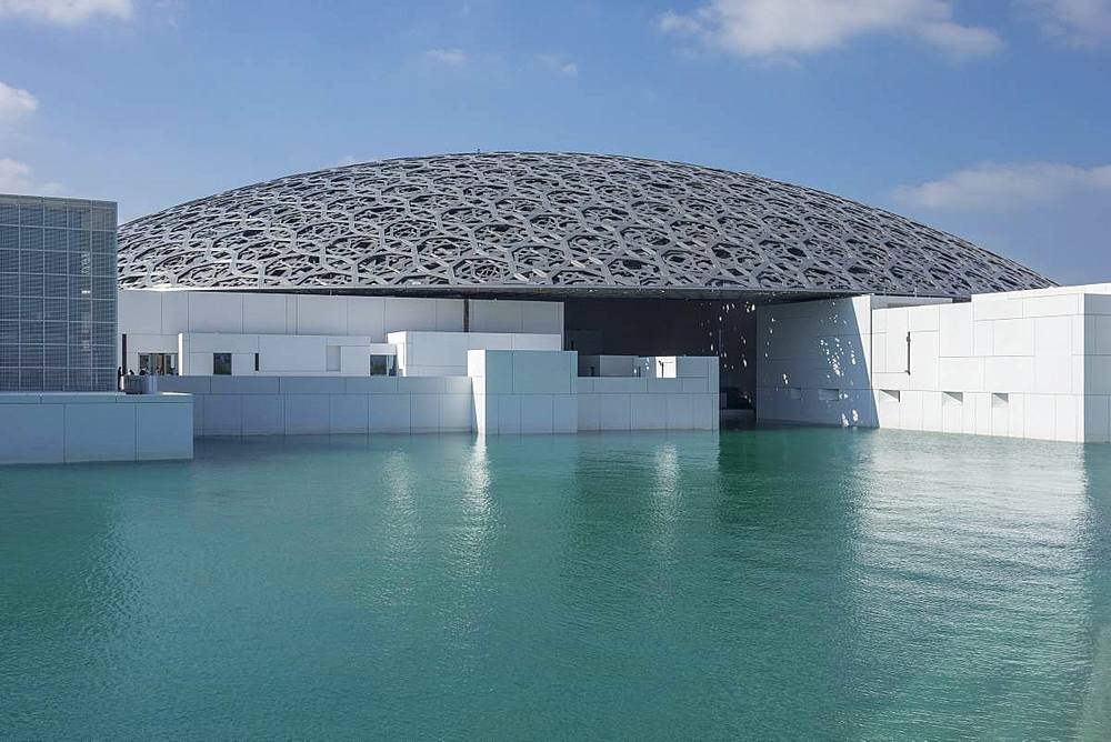 Louvre Art Gallery, Abu Dhabi, United Arab Emirates, Middle East - 306-4453