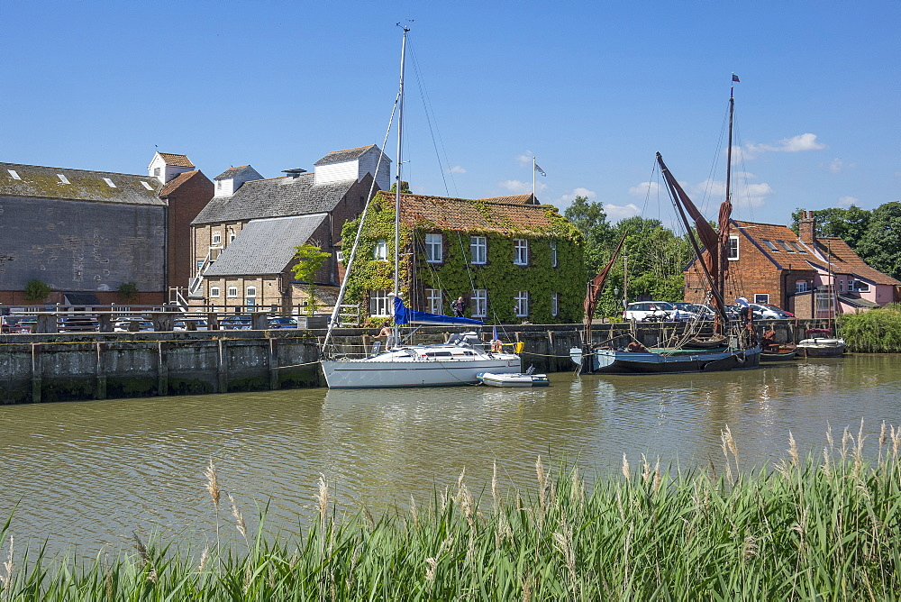 The Maltings and River Alde, Snape, near Aldeburgh, Suffolk, England, United Kingdom, Europe - 306-4465