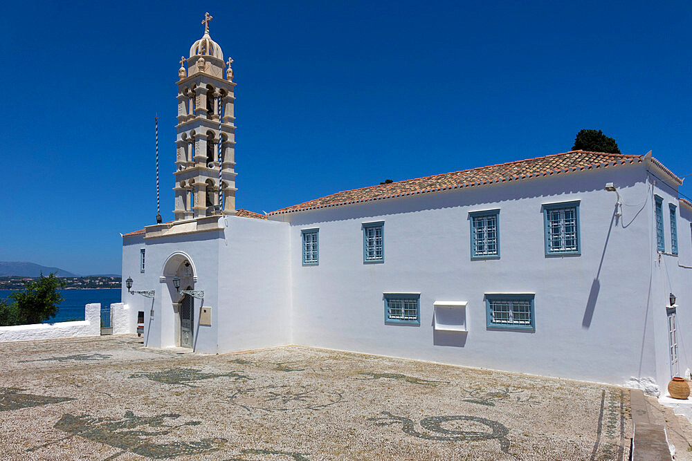 St. Nicholas Monastery, Spetses, Saronic Islands, Greece