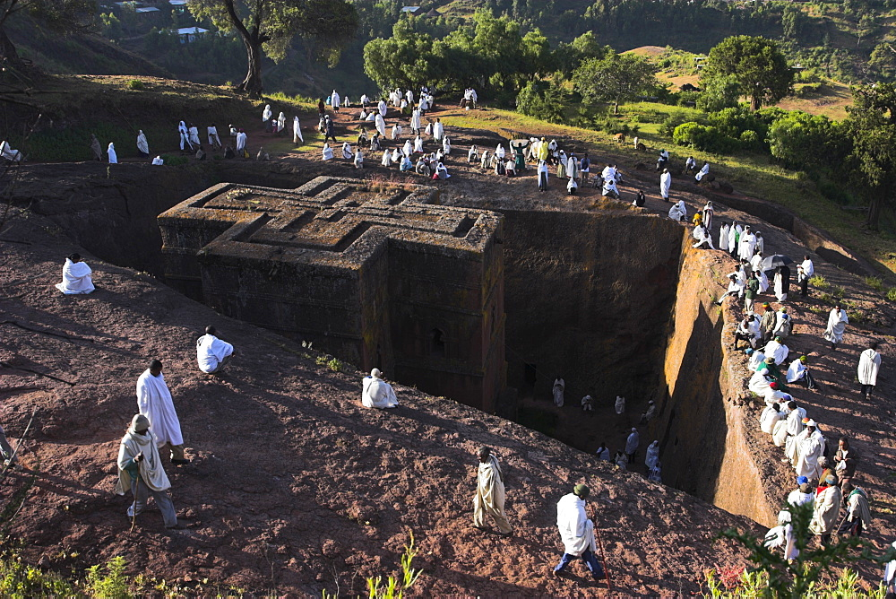Photo of Lalibela world heritage site in Ethiopia