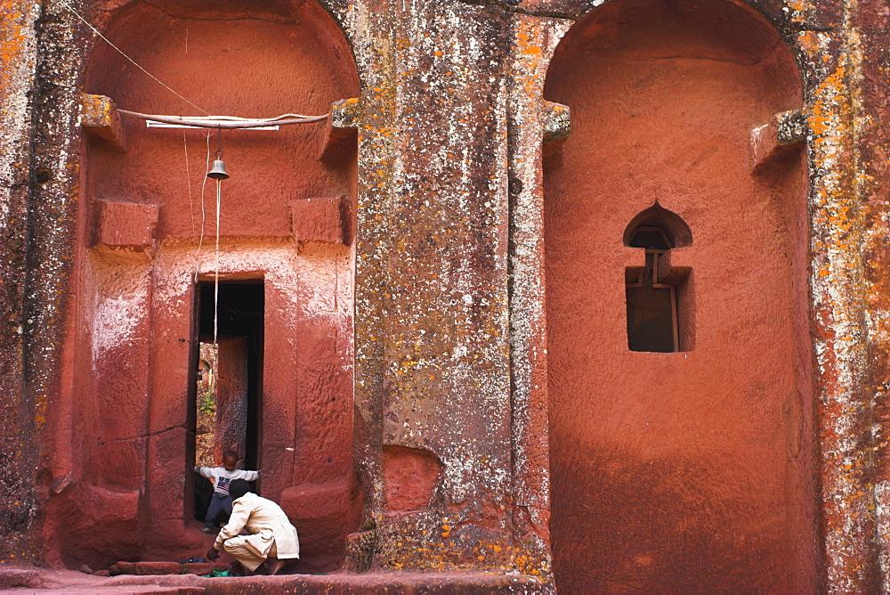 Bet Gabriel-Rufael, Lalibela, UNESCO World Heritage Site, Ethiopia, Africa - 312-2682
