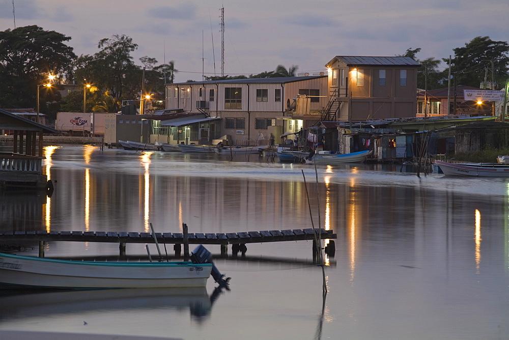 Haulover Creek, Belize City, Belize, Central America