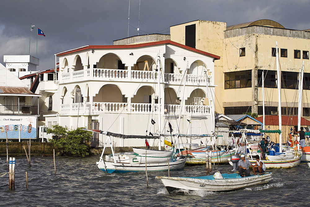 Belize Harbour, Belize City, Belize, Central America
