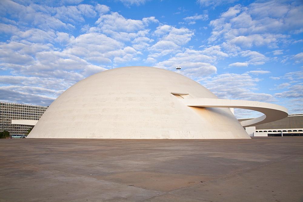 Cultural Complex of the Republic, National Museum, Brasilia, Distrito Federal-Brasilia, Brazil, South America