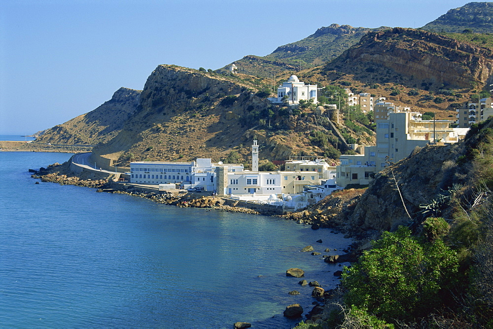 Korbous, spa town, Cap Bon region, Tunisia, North Africa, Africa - 314-2862
