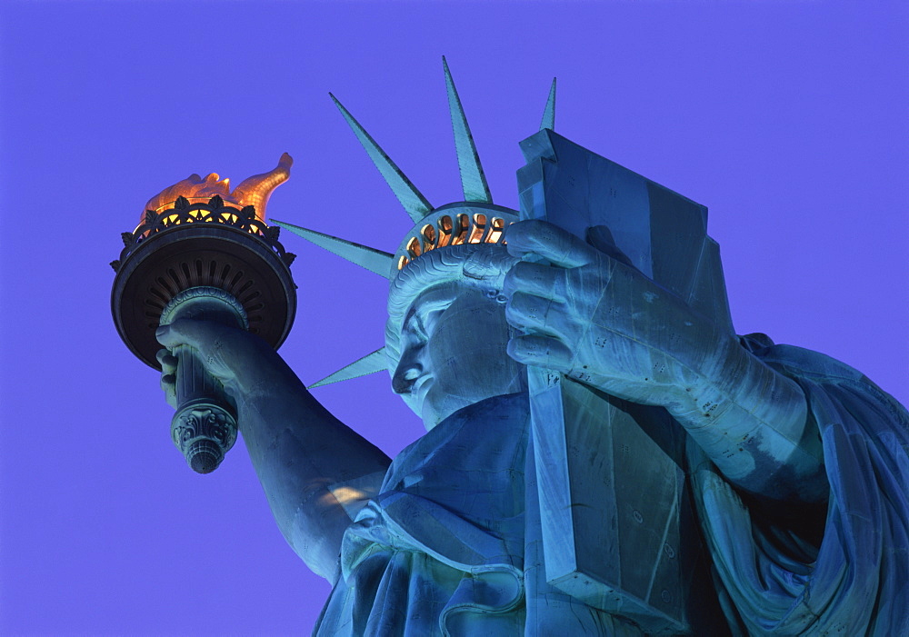 The Statue of Liberty, New York City, New York, United States of America, North America