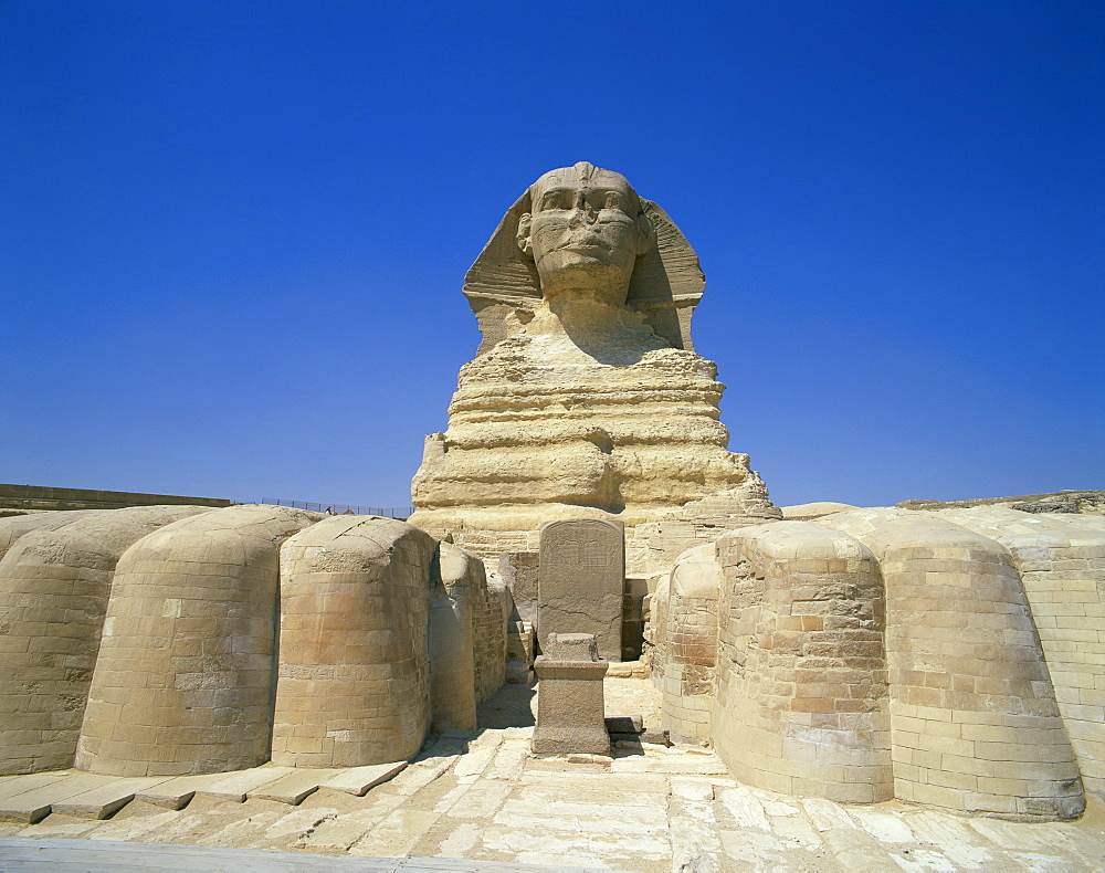 The Great Sphinx, Giza, UNESCO World Heritage Site, Cairo, Egypt, North Africa, Africa