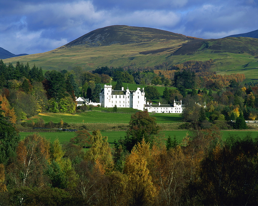 Blair Castle, Perthshire, Scotland, United Kingdom, Europe