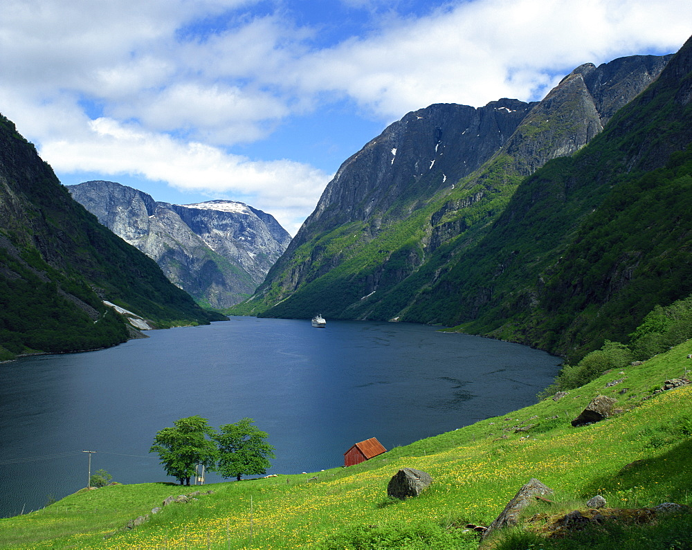 Sognefjord, Norway, Scandinavia, Europe