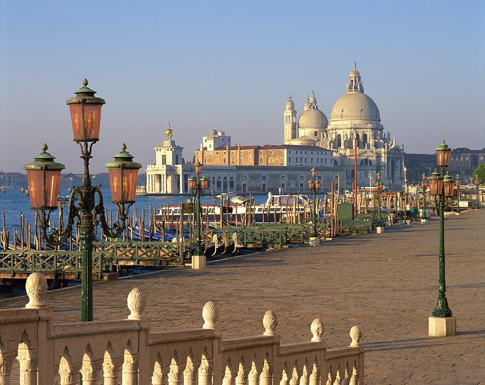 The church of Santa Maria Della Salute in Venice, UNESCO World Heritage Site, Veneto, Italy, Europe