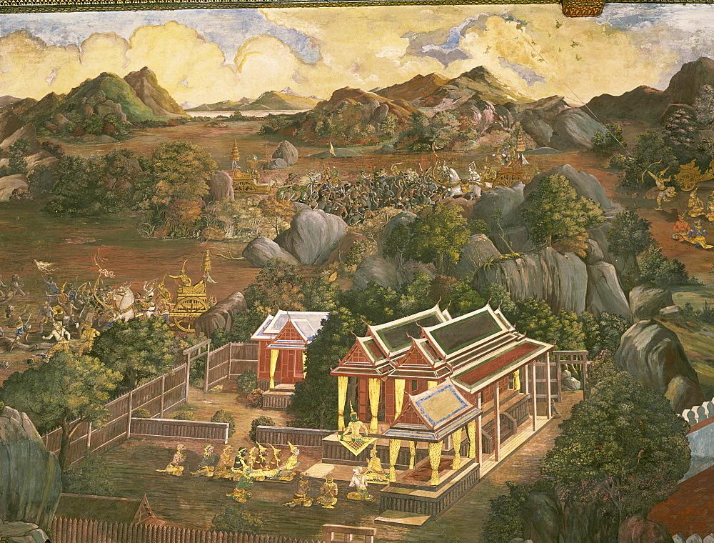 Rammakean, Bangkok, Thailand, Southeast Asia, Asia - 352-398