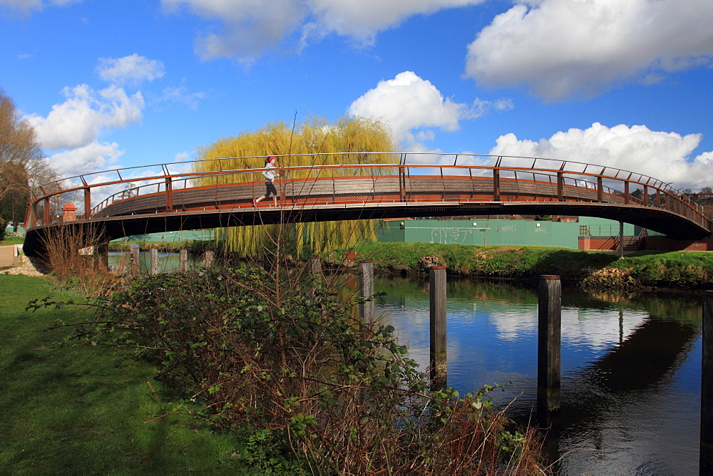 Jarrold Bridge, Sir Peter Jarrold's dream. designed by Stephen James, Norwich, Norfolk, England, United Kingdom, Europe - 352-963