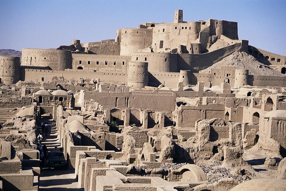 Arg-e Bam, the Citadel, Bam, Iran, Middle East