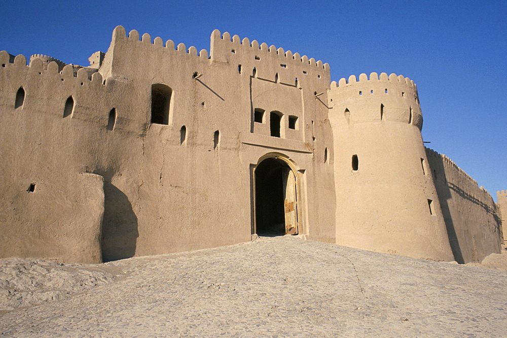 Gatehouse, 17th century Citadel, Arg-e Bam, Bam, UNESCO World Heritage Site, Iran, Middle East