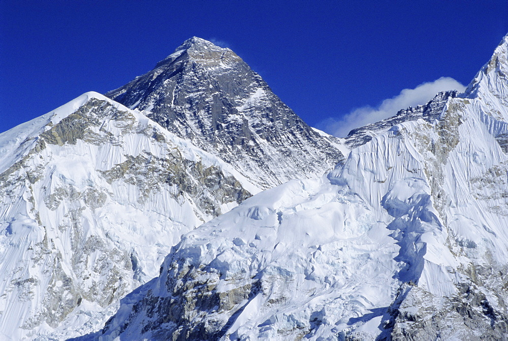 Mount Everest from Kala Pata, Himalayas, Nepal, Asia - 357-2442