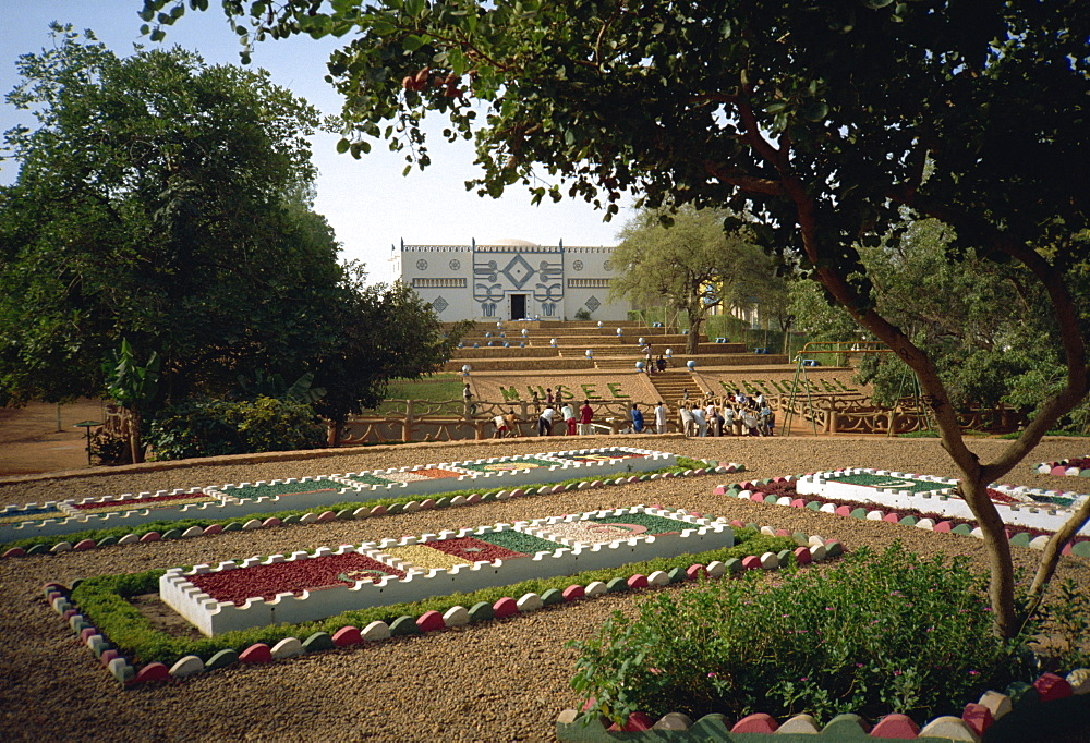 Garden of Nations in grounds of National Museum, Niamey, Niger, Africa