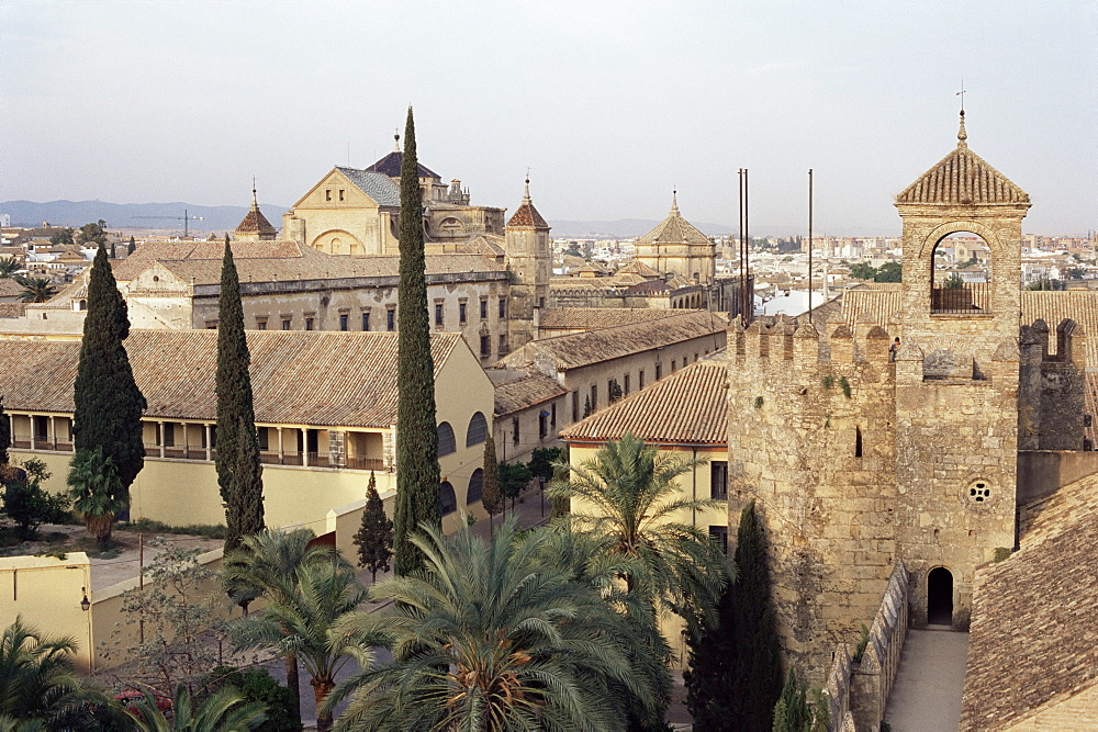 Episcopal palace and mosque, Cordoba, Andalucia, Spain, Europe - 358-229