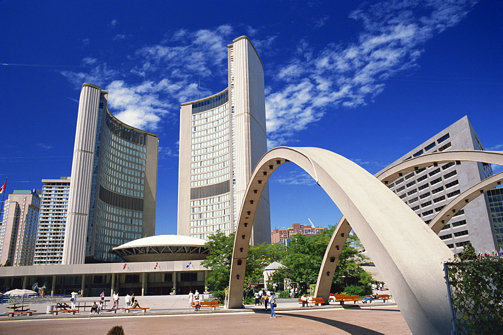 City Hall, Toronto, Ontario, Canada, North America - 358-37