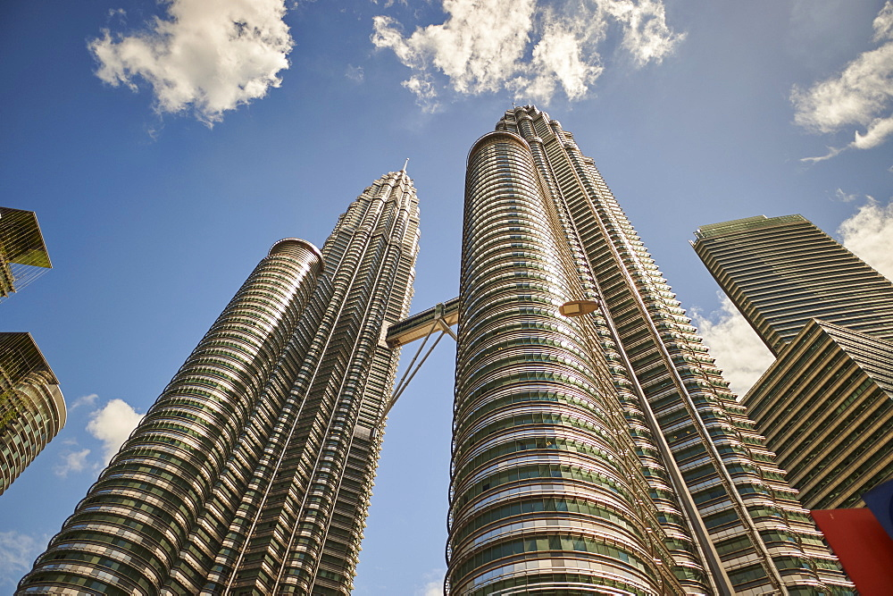 Petronas Towers, Kuala Lumpur, Malaysia, Southeast Asia, Asia - 358-578