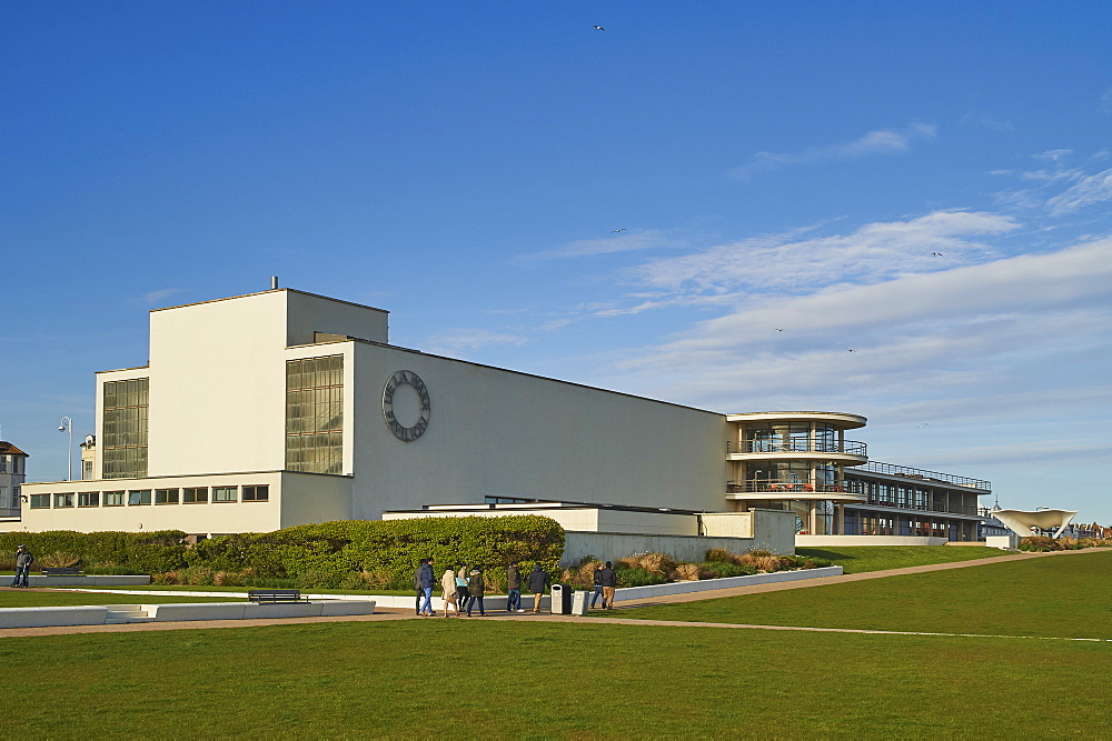 De La Warr Pavilion, an Art Deco building, Bexhill-on-Sea, East Sussex, England, United Kingdom, Europe - 358-605