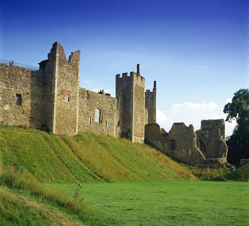 Framlingham Castle, Framlingham, Suffolk, England, United Kingdom, Europe