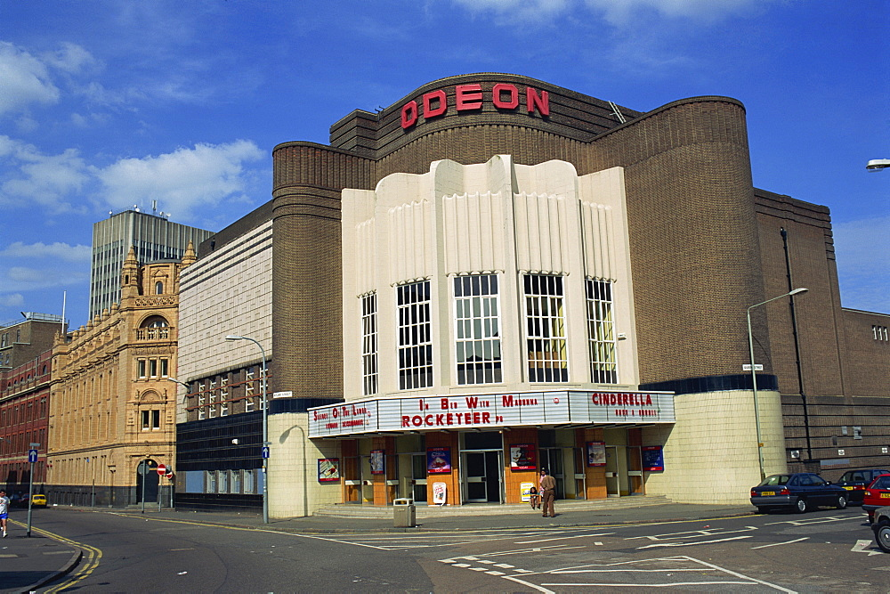 Leicester Odeon, on the corner of Queen Street and Rutland Street, Leicester, England, United Kingdom, Europe