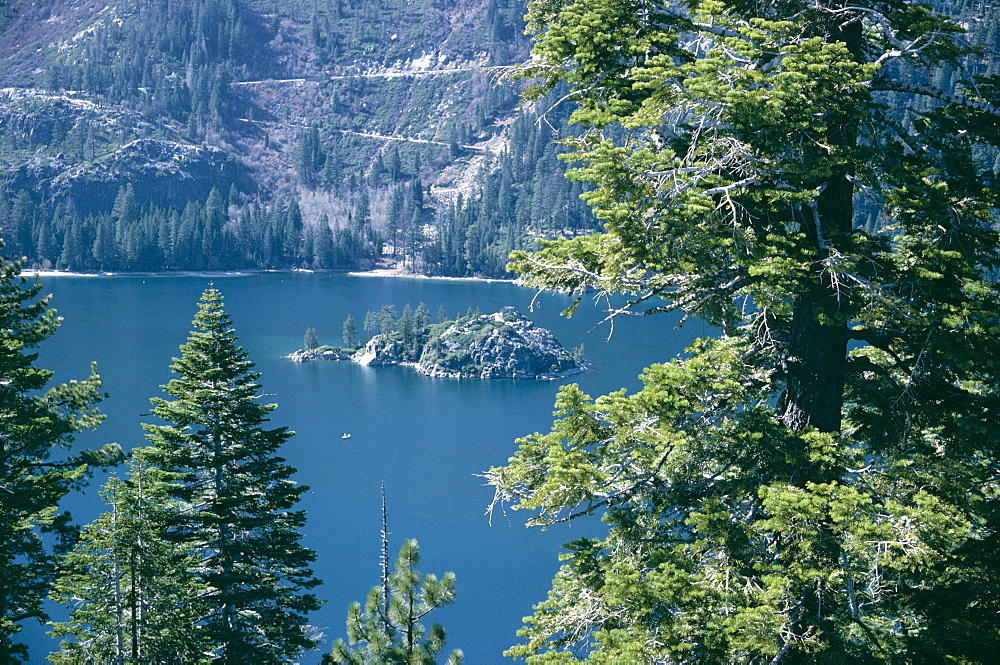 Emerald Bay, Lake Tahoe, California, United States of America (U.S.A.), North America