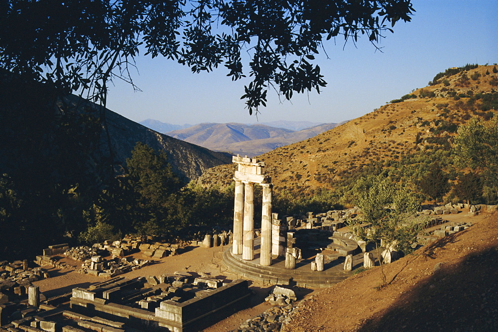 Delphi, Sanctuary of Athena, Greece, Europe
