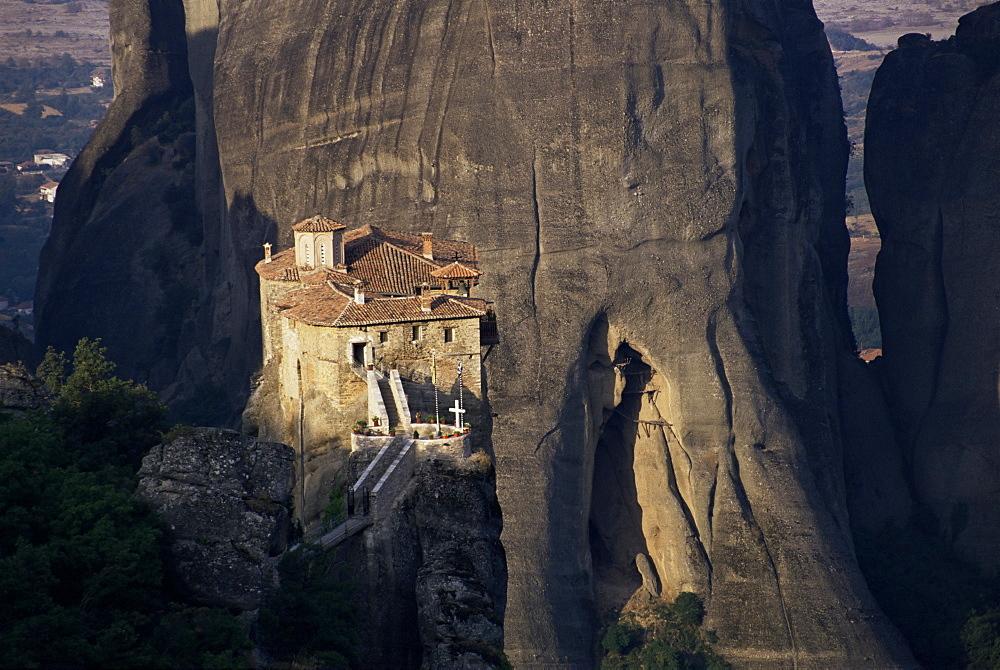 Rossanou monastery, Meteora, UNESCO World Heritage Site, Greece, Europe