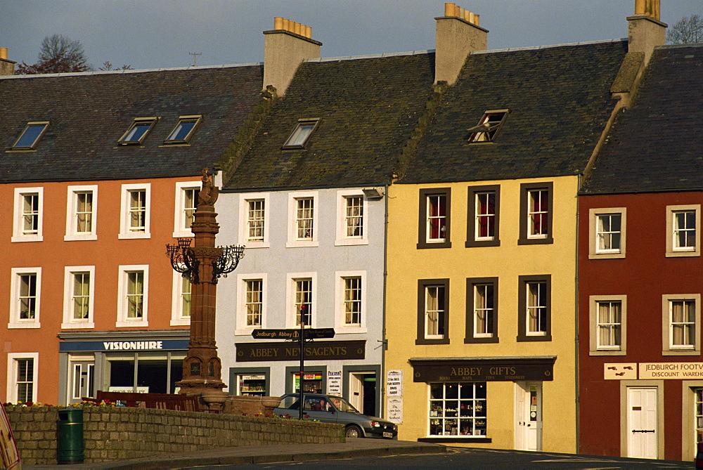 Architecture of Jedburgh, Borders, Scotland, United Kingdom, Europe