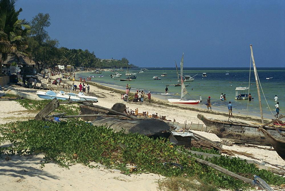 Bamburi Beach, near Mombasa, Kenya, East Africa, Africa