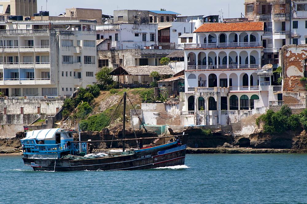 Mombasa waterfront, Kenya, East Africa, Africa