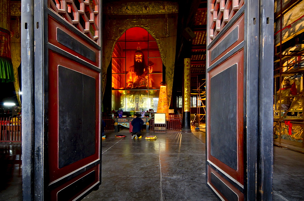 Qingyang Gong monastery temple complex, Chengdu, Sichuan, China, Asia
