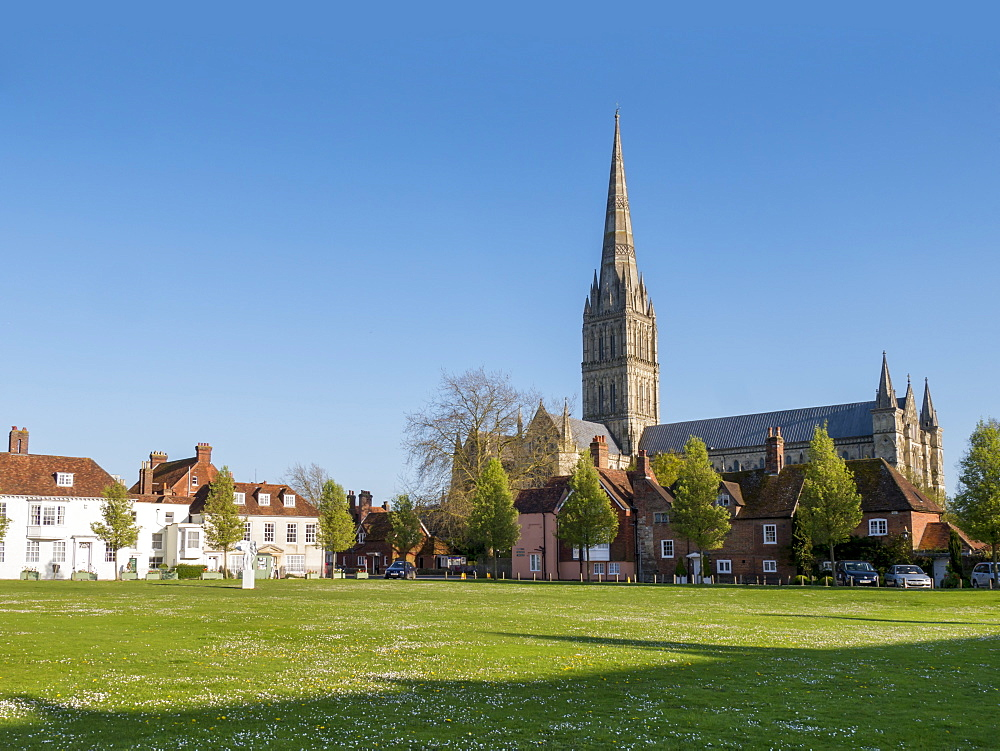 Salisbury Cathedral, Salisbury, Wiltshire, England, United Kingdom, Europe