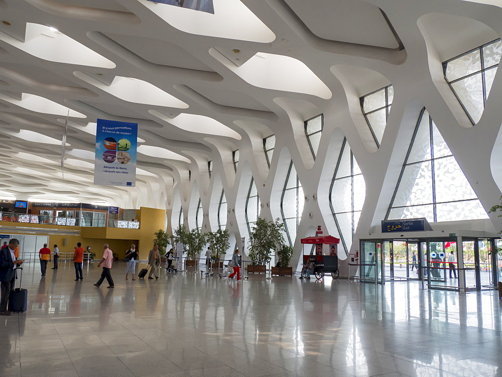 Airport, Marrakech, Morocco, North Africa, Africa